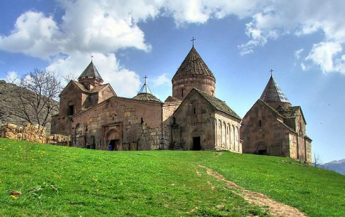 Armenia:      Goshavank monastery