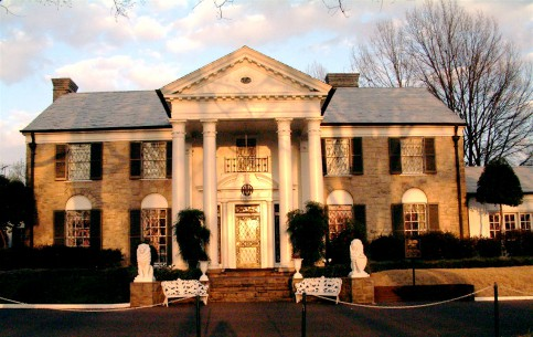 Tennessee:  Memphis:  United States:      Graceland home to Elvis Presley
