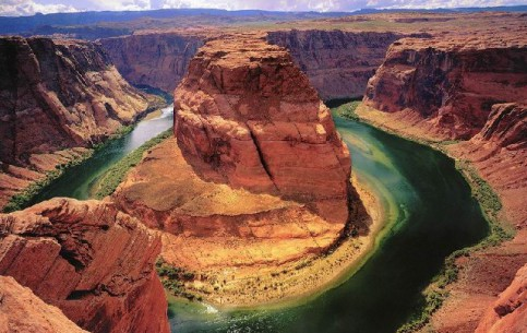 National Park Grand Canyon - a few ecosystems, a diversity of caves, rocks, plants, animals, birds and fish, and most importantly - Canyon of the Colorado River