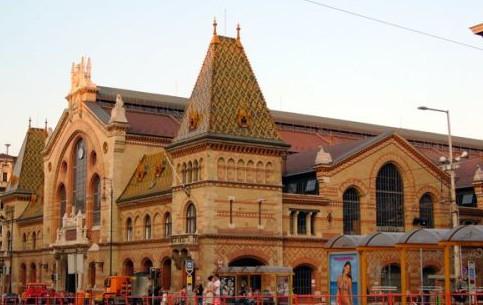 ブダペスト:  ハンガリー:      Great Market Hall