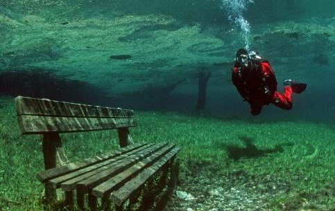Трагёсс:  Австрия:      Озеро Грюнер Зее