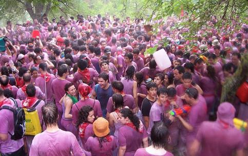 La Rioja:  Spain:      Haro Wine Festival