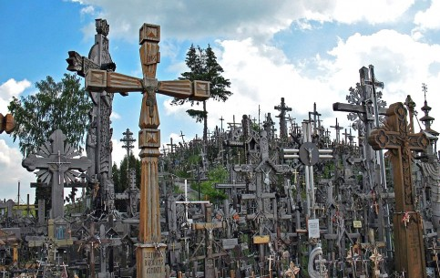 Lithuania:      Hill of Crosses