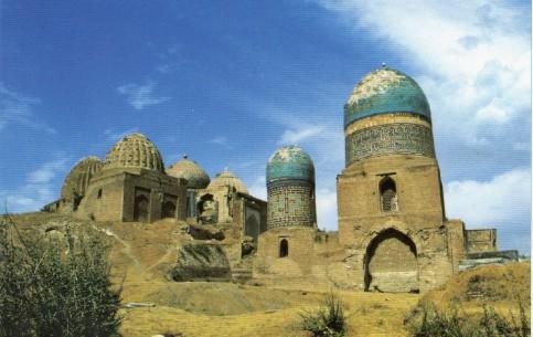 撒马尔罕:  乌兹别克斯坦:      Hills of Afrasiab