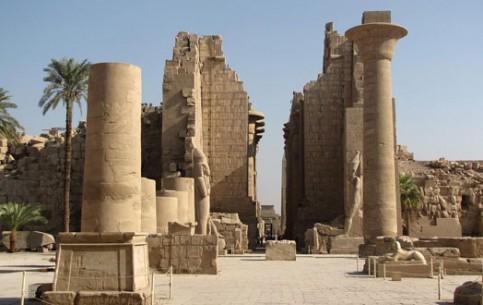 Луксор:  Нубия:  Египет:      Карнакский храм