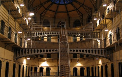 Дублин:  Ирландия:      Тюрьма Килмаинхам