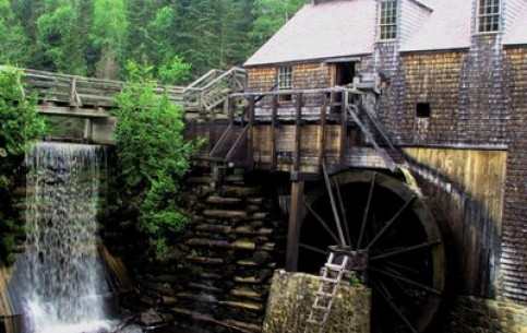 New Brunswick:  Canada:      Kings Landing Historical Settlement