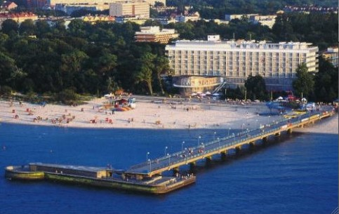 Kolobrzeg - the most popular resort of Poland; peculiar microclimate; modern sanatorium complexes; clean sea-water; spectacular concerts and festivals.