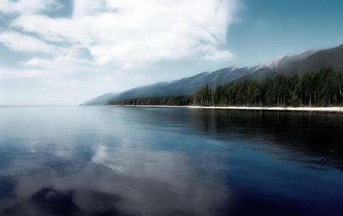 伊尔库茨克州:  俄国:      貝加爾湖