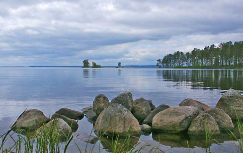 Leningradskaya oblast':  Russia:      Lake Onega
