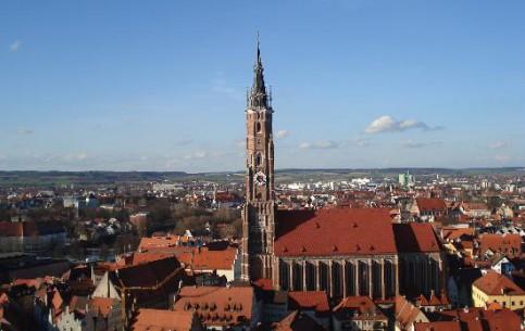 巴伐利亚:  Southern Bavaria:  德国:      Landshut