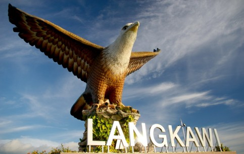 Langkawi - an archipelago of 99 islands; snowy beaches; dense forests; marine park Pulau Payar; waterfall