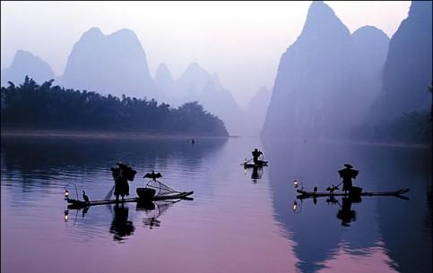 Китай:      Река Ли