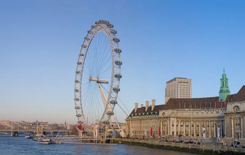 Лондон:  Великобритания:      Лондонский глаз