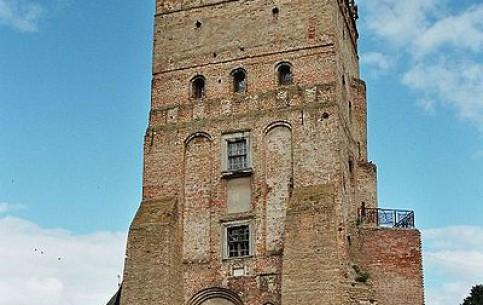 Lutsk:  Ukraine:      Lubart's Castle