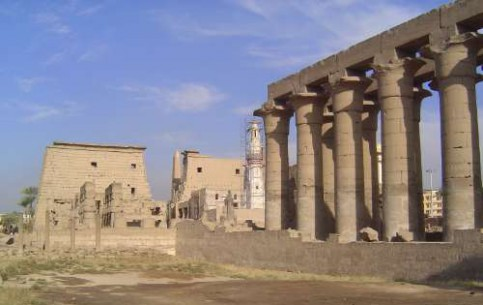 Луксор:  Нубия:  Египет:      Луксорский храм