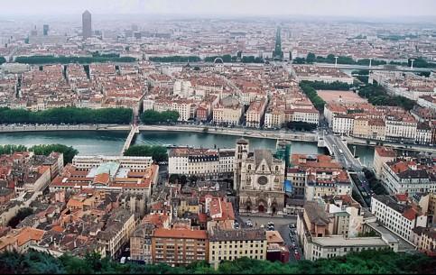 Rhône-Alpes:  法国:      里昂