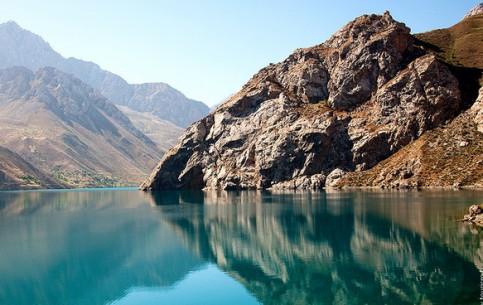 Tajikistan:      Marguzor Lakes