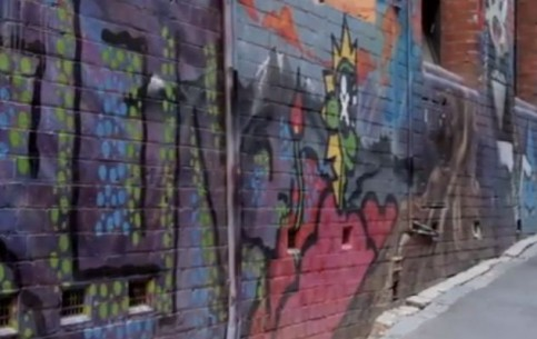 Melbourne:  Australia:      Melbourne's street art