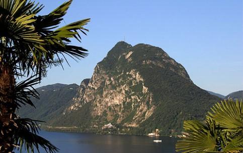 Lugano:  Switzerland:      Monte San Salvatore