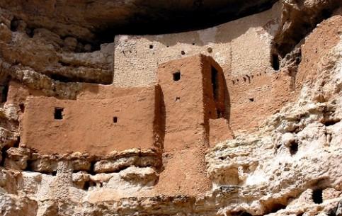 アリゾナ州:  アメリカ合衆国:      Montezuma's Castle