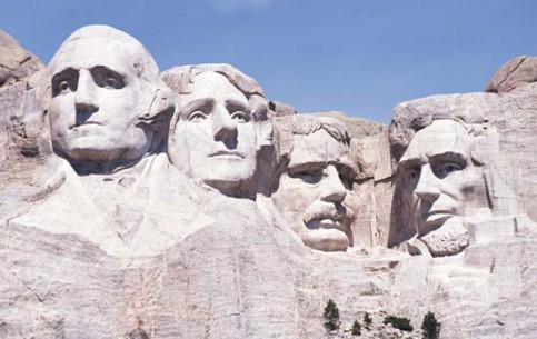 南达科他州:  美国:      Mount Rushmore