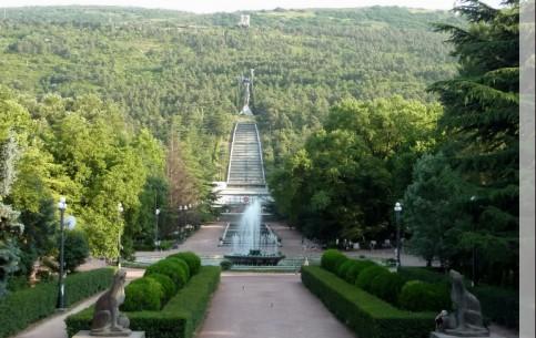 Тбилиси:  Грузия:      Парк Мтацминда