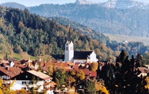 巴伐利亚:  Southern Bavaria:  德国:      Oberstaufen