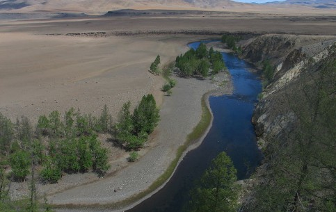 منغوليا:      Orkhon River