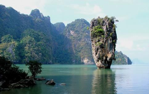 Таиланд:      Залив Пхангнга