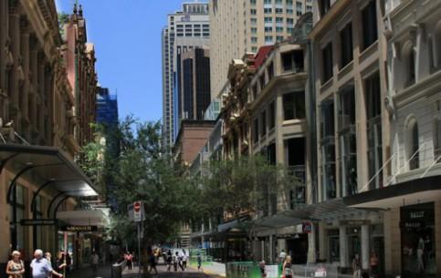 Sidney:  Australia:      Pitt-Street-Moll