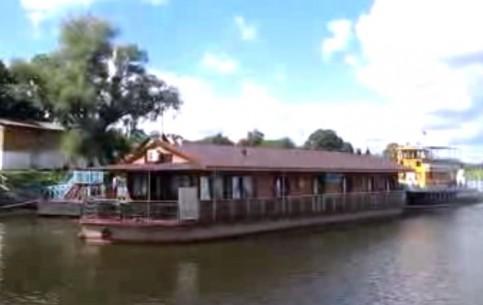 Гомель:  Беларусь:      Плавучая гостиница Полесье