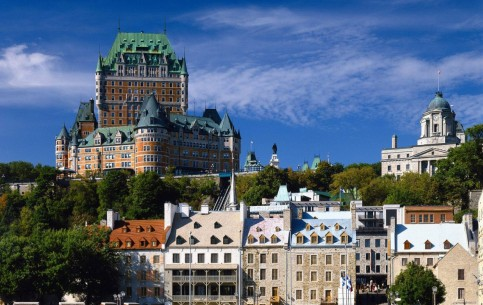 魁北克市:  魁北克:  加拿大:      Quebec City Old Town