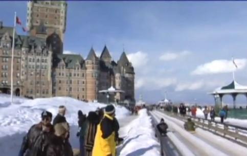 Квебек:  Квебек:  Канада:      Зимний карнавал в Квебеке