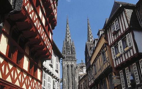 Brittany:  France:      Quimper
