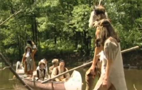 كندا:  Quebec:      Rabaska Ride in Laval