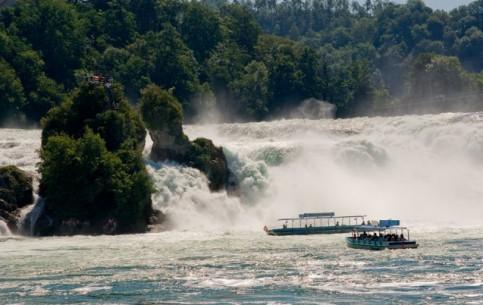 Switzerland:      Rhine Falls