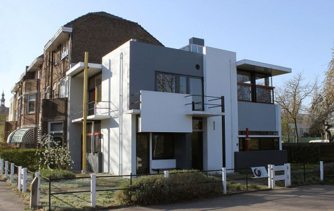 City of Brussels:  Belgium:      Rietveld Schröder House