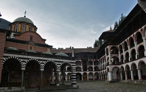 Sofia:  Bulgaria:      Rila Monastery