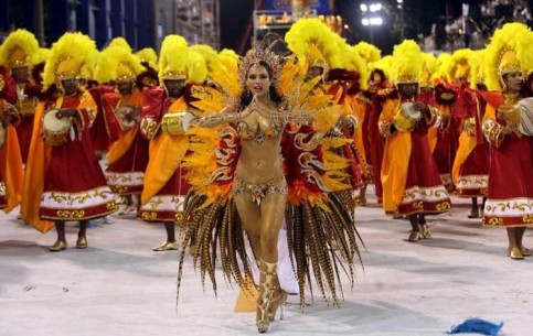 Rio Carnival is an embodiment and pride of Brazilian culture. The most joyous, bright and noisy festival, accompanied by fiery rhythms of samba, the most grandiose show on the planet