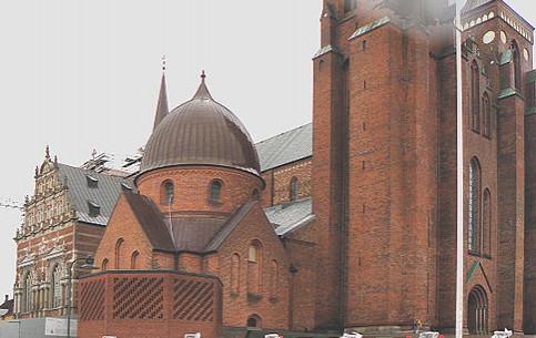 罗斯基勒:  丹麦:      罗斯基勒主教座堂