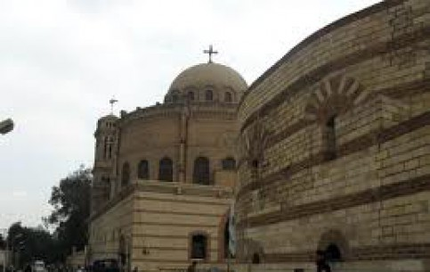 Каир:  Египет:      Церковь Святого Сергия
