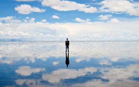 Potosi:  Bolivia:      Salar de Uyuni