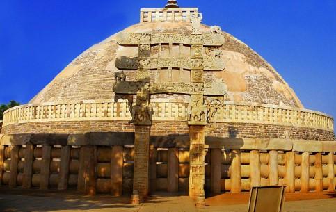 Madhya Pradesh:  India:      Sanchi