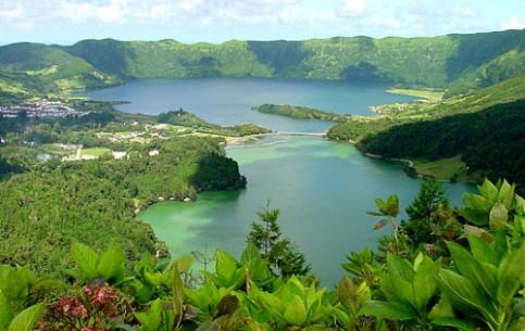 Azores Island:  Portugal:      São Miguel Island