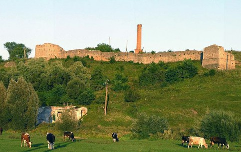 Хмельницкий:  Украина:      Сатановский замок