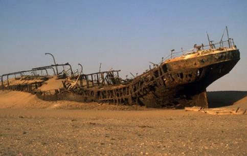 Намибия:      Берег Скелетов