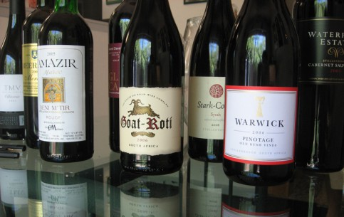 South Africa:      South African wines