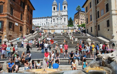 Images Spanish Steps square