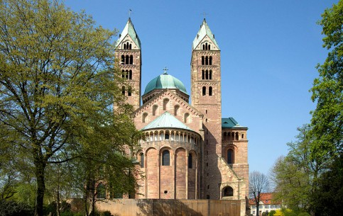 Rhineland-Palatinate:  Germany:      Speyer Cathedral
